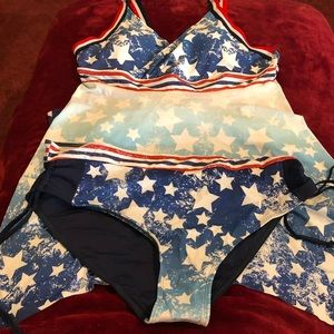 Other - American Flag Swimsuit